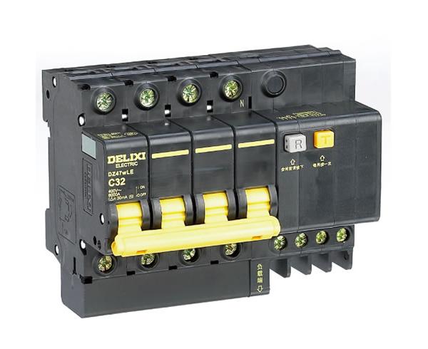 DZ47wLE小型标准漏电保