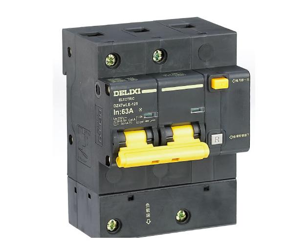 DZ47wLE-125大电流漏电