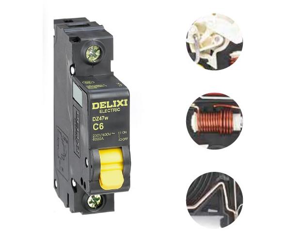 DZ47w小型标准断路器