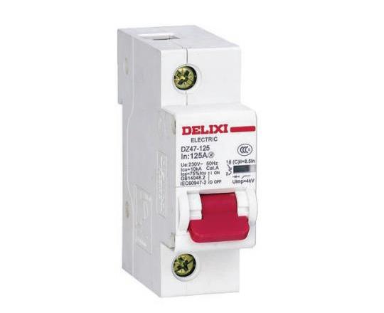 DZ47-125大电流断路器