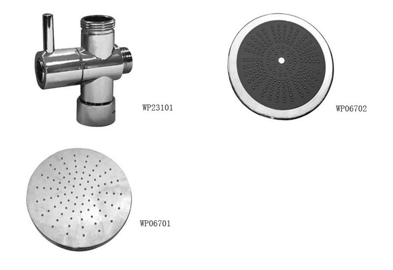 多功能组合淋浴器配件
