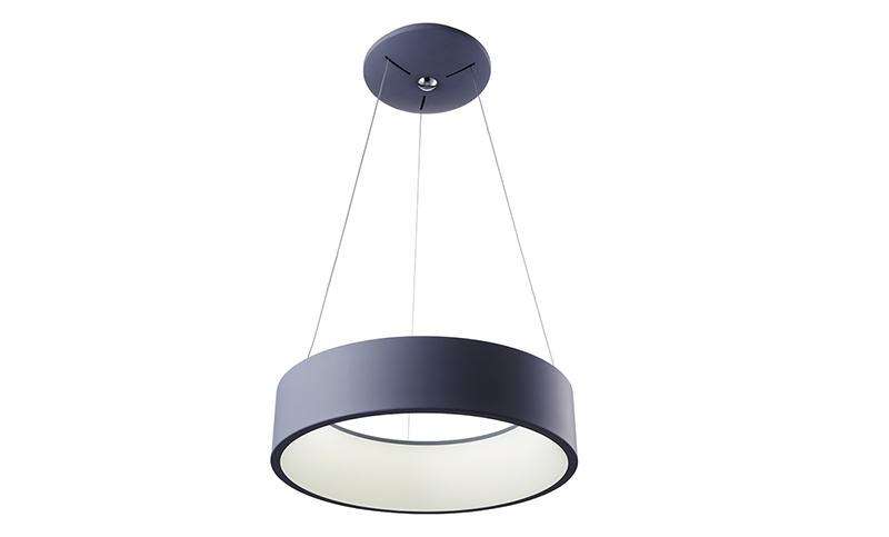 LED吊灯星圆 银灰色