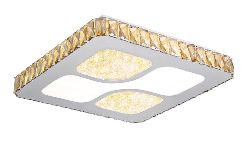 LED卧室吸顶灯晶菱