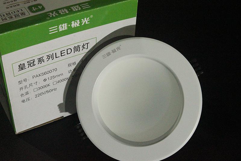 皇冠LED筒灯